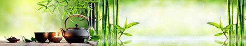Скинали - Спа фон с чаем и бамбуком