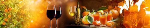 Скинали - Винно-фруктовый фон