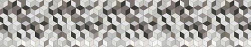 Скинали - Геометрический фон, объемные кубики