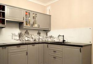 Скинали для серой кухни - 31545