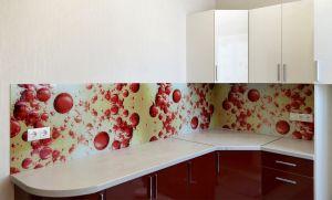 Капли для скинали в интерьере кухни - 31548