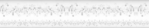 Скинали - Паттерн из объемных кубиков в ряд