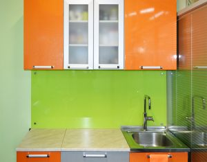 Скинали для оранжевой кухни - 31722