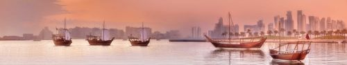 Скинали - Арабские лодки в мегаполисе