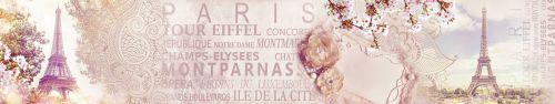 Скинали - Винтажный фон о Париже