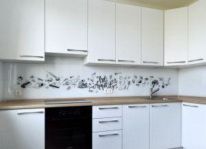 Еда и напитки для скинали в интерьере кухни - 32416