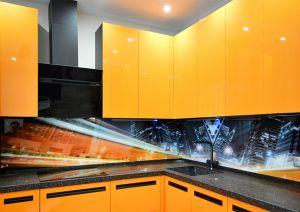 Скинали для оранжевой кухни - 32418
