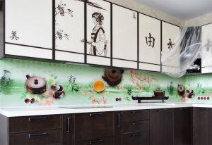 Чай для скинали в интерьере кухни - 32482