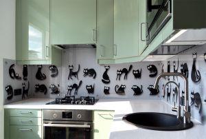 Скинали для зеленой кухни - 32650