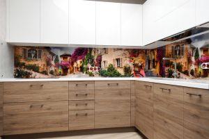 Винтаж, старина для скинали в интерьере кухни - 32651