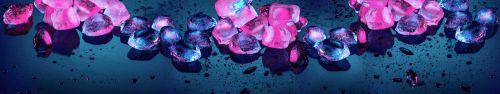 Скинали - Кубики льда в яркой подсветке