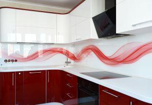 Скинали для красной кухни - 32755