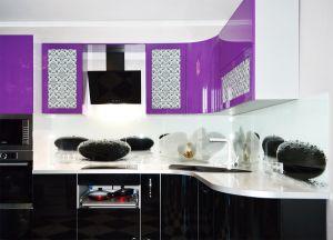 Скинали для фиолетовой и сиреневой кухни  - 32759