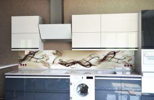 Дым для скинали в интерьере кухни - 32760