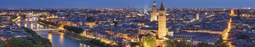 Скинали - Огни Вероны, панорама города