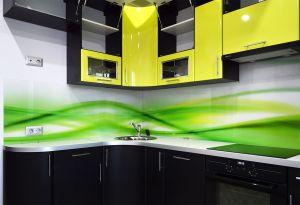 Скинали для зеленой кухни - 32920