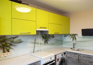 Скинали для желтой кухни - 32963