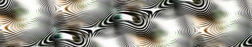 Скинали - Фон-абстракция с эффектом искаженного стекла