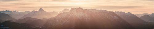 Скинали - Альпы вечером