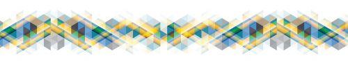 Скинали - Пересекающиеся линии разных цветов на белом фоне
