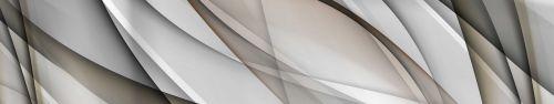Скинали - Серо-бежевые плавные линии