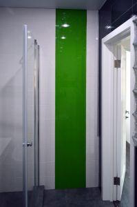 Отделка стен стеклом - 33232