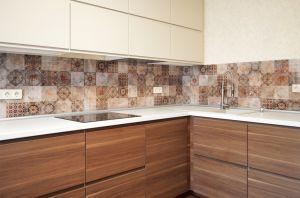 Текстуры для скинали в интерьере кухни - 33265