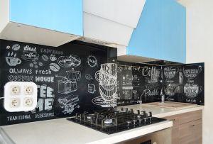 Кофе для скинали в интерьере кухни - 33267