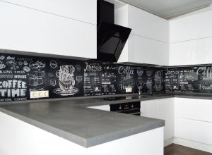 Еда и напитки для скинали в интерьере кухни - 33287