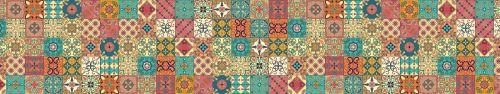 Скинали - Азулежу в разноцветных красках