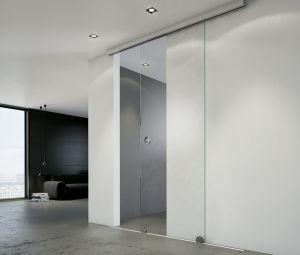 Стеклянные двери - фото - 33363