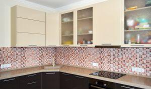 Плитка для скинали в интерьере кухни - 33447
