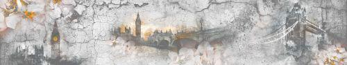 Скинали - Состаренный фон Лондона