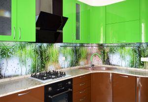 Капли для скинали в интерьере кухни - 33573