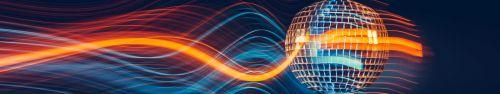 Скинали - Диско шар и световые волны