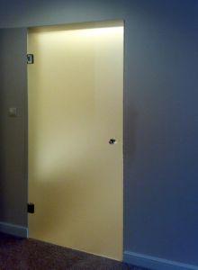 Стеклянные двери - фото - 33692