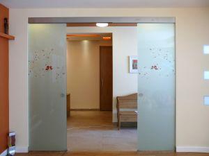 Стеклянные двери - фото - 33694