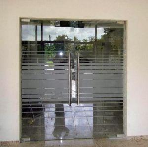 Стеклянные двери - фото - 33717