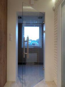 Стеклянные двери - фото - 33718