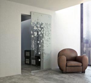 Стеклянные двери - фото - 33721