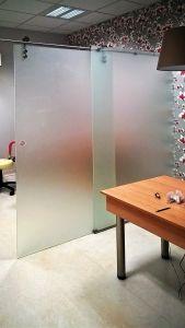 Стеклянные двери - фото - 33724