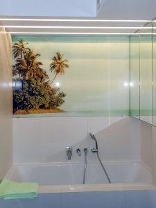 Отделка стен стеклом - 33744