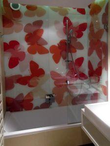 Отделка стен стеклом - 33750