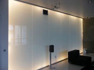 Отделка стен стеклом - 33752