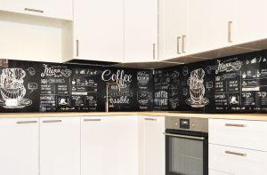 Кофе для скинали в интерьере кухни - 33856
