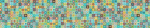 Скинали - Цветной геометрический паттерны