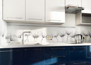 Капли для скинали в интерьере кухни - 34021