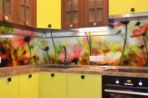 Полевые для скинали в интерьере кухни - 34289