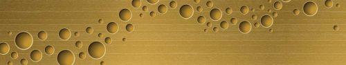 Скинали - Золотистый фон со сферами