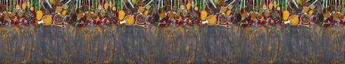 Скинали - Разнообразие специй на столе, вид сверху